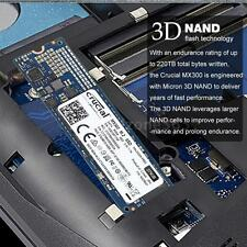 Crucial 275GB 6Gb/s M.2 2280 SSD Solid State Drive Disk CT275MX300SSD4 Q5Y7