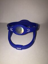 Medium BLUE Power Band  Ion Hologram Bracelet - Ships From USA (1pc)