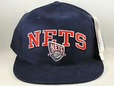 Kids Youth Size NBA New Jersey Nets Vintage Snapback Hat Cap Navy