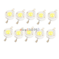 10PCS 1W Pure White SMD LED Beads