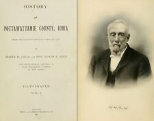 1907 POTTAWATTAMIE County Iowa IA, History and Genealogy Ancestry DVD B38