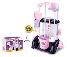 Niños Niñas Pequeño Ayudante Juguete de limpieza Limpiador de Juego de Rol Juguete carro sobre ruedas de 58 Cm