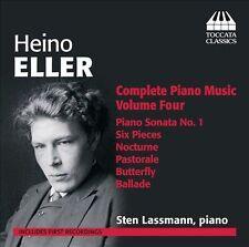 Heino Eller Musique pour piano (Intégrale - Volume 4), New Music