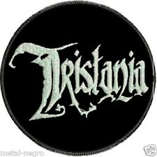 TRISTANIA EMBROIDERED PATCH GOTHIC DOOM SIRENIA NIGHTWISH EPICA Metal Negro