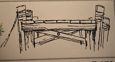 DOCK Lg size U GET PHOTO #2 RETIRED L@@k@examples ART IMPRESSIONS RUBBER STAMPS