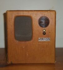 Vintage Hamilton Tube Radio RCA Chassis Model 289, For Parts or Repair