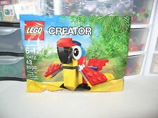 LEGO CREATOR PARROT HARD TO FIND NEW POLYBAG 30472