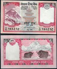 Nepal set 5- 100 Rupees ND(2008) UNC**New (sign 17)