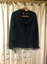 LUCKY BRAND Black , cotton jacket , Ladies Large