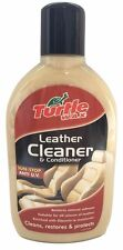 TURTLE WAX LEATHER CLEANER CONDITIONER ENRICH CARS RESTORE ANTI U.V SUN STOP