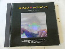 Enigma - MCMXC a. D. - Rare Limited CD - Holographic Cover + 4 Extra Tracks  gut