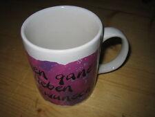 Keramik-Kaffeetasse einen ganz lieben Glückwunsch von Diddl die Springmaus