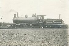 5C963 RP 1903/1940s? BANGOR & AROOSTOOK RAILROAD ENGINE 27 HARTWELL OLD TOWN ME
