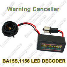 Ba15s P21W 1156 Led Canbus Can-bus error carga resistor Fix OBC Decodificador