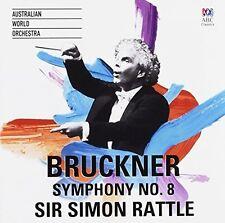 Bruckner / Simon Rattle / Australian World Orch - Bruckner: Symphony 8 [New CD]
