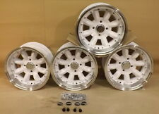 13x7 MINI DEEP DISH JBW SUPERLIGHT MK2 WHEELS CAR SET OF 4, 7x13 -7ET, 4X101.6