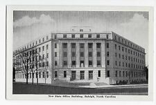 Vintage Postcard Raleigh NC State Office Building North Carolina WB