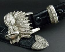 Warner Brothers - Bugs Bunny Sterling Silver & Leather Belt