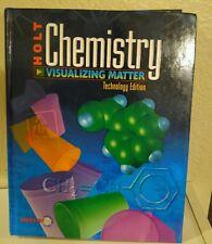 Holt Chemistry Visualizing Matter 11th Grade 11 Science Technology Homeschooling