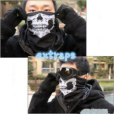 2X Skeleton Ghost Skull Face Mask Biker Balaclava Call of Duty COD Costume Game