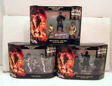 Set of 9 Star Wars Revenge of Sith DVD Collection Figures- 3 Boxes MIB (112003)