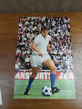 Photo-poster FOOTBALL vintage : ROGER MAGNUSSON MARSEILLE SAISON 1968-1969