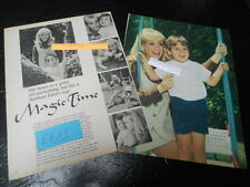 1969 BARBARA EDEN MAGAZINE ARTICLE CLIPPING MAGIC TIME