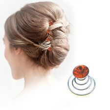 Crystal Hair Spirals Fashion Ladies Wedding Diamante Twists Spinners Accessories