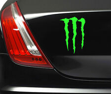 MONSTER FUNNY STICKER Car Van Bumper Window Laptop JDM VINYL DECALS STICKERS