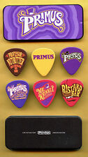 Set of 6 PRIMUS Willy Wonka OFFICIAL Picks from Red Rocks Concert METAL CASE