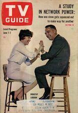 1963 TV Guide June 1 - Dorothy Loudon; Combat; Jack Elam;Barbara Bain;D Drysdale