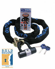 OXFORD HD CHAIN LOCK MOTORBIKE  MOTORCYCLE HEAVY DUTY 1.5M SECURE (OF159)