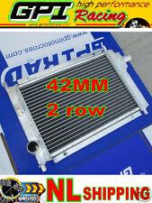42mm Rover FOR Mini Cooper S MPI 1275/1.3L hi-perf aluminum alloy radiator 97-01