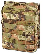 TASCA UTILITY SOFTAIR MOLLE LARGE VEGETATO - DEFCON 5 D5-UPAVX VI AIRSOFT POUCH