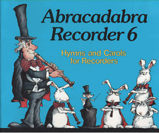 Abracadabra Recorder 6 Hymns & Christmas Carols For Groups Sheet Music Book