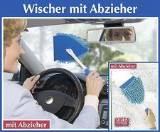 Wenko Chenille Mikrofaser Wischer mit Abzieher Fensterputzer Abwischer Fenster
