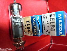 EL84 6P15 MAZDA  NEW OLD STOCK  VALVE TUBE O15A