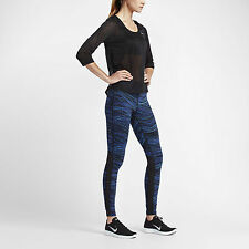 Nike Power Epic Lux Women's Printed Running Tights 799796 455  SZ XL