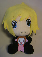 Manga / Anime Plüsch Figur Final Fantasy 7 Chibi Cloud Strife mit Aeris