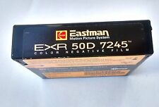 RARE KODAK EASTMAN EXR 50D 7245 NEGATIVE FILM 100 FEET FOR 16MM MAGAZINE CAMERAS