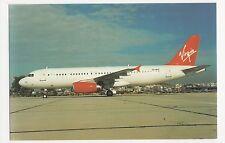 Virgin Atlantic Airbus A320 SX-BSV Aviation Postcard, B007