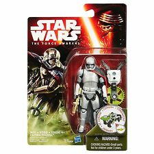 STAR WARS THE FORCE AWAKEN 3 3/4 FOREST MISSION CAPTAIN PHASMA NEW ACTION FIGURE