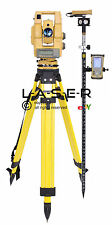 TOPCON GTS-815A ROBOTIC SURVEYING TOTAL STATION PACKAGE, SOKKIA,TRIMBLE,LEICA,