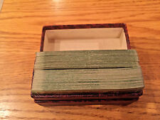 Vintage Double Deck Minerva Cards, Gibson Playing Card Co Case, ARRCO