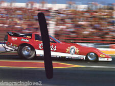 "Tom ""Mongoose"" McEwen 1986 ""Coors"" Corvette NITRO Funny Car PHOTO!"