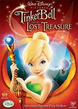 Tinker Bell & Lost the Treasure  DVD