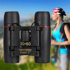 30 x 60 Zoom Day Night Vision Outdoor Folding Zoom Optical Binocular Telescope