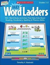 Interactive Whiteboard Activities: Daily Word Ladders Gr. 12: 150+ Word Study
