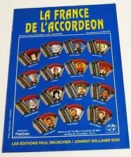 Partition sheet music ANDRE VERCHUREN : La France de l'Accordéon * 90's MOUTET