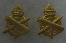 PAIR of VIETNAM WAR Vintage U.S. ARMY CIVIL AFFAIRS OFFICER COLLAR PIN SET